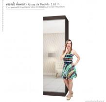 Sapateira Porta de Espelho 40 Pares Esmeralda Gelius Nogueira