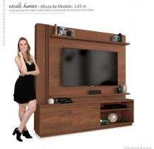 Estante Home Para TV 65 Polegadas Royal EDN Naturale