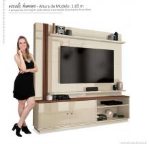 Estante Home Para TV 65 Polegadas Royal EDN Off White/Naturale