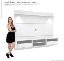 Painel Home Suspenso Para TV 60 Angra Mirarack Branco