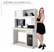 Mesa Gamer Para Computador Office Joya EDN Branco