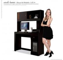 Mesa Gamer Para Computador Office Joya EDN Preto