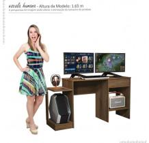 Mesa Para Computador Gamer 6099 JB Bechara Canela