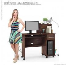 Mesa Para Computador Office Studio Lukaliam Noce