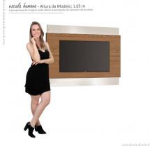 Painel Classic 1.4 Para TV Até 50 Polegadas Imcal - Freijó/Off White