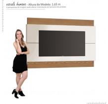 Painel Classic 1.8 Para TV Até 65 Polegadas Imcal - Off White/Freijó