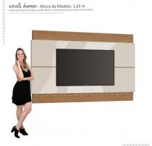 Painel Para TV 65 Polegadas Classic 2.2 Imcal Off White/Freijó