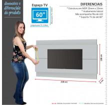 Painel Para TV 65 Polegadas Classic 2.2 Imcal Branco