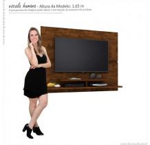Painel Suspenso Para TV 50 Polegadas Mônaco 1.5 Lukaliam Canela