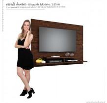 Painel Suspenso Para TV 50 Polegadas Mônaco 1.5 Lukaliam Noce