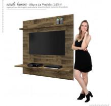 Painel Para TV 46 Polegadas Mônaco RV Móveis Amadeirado