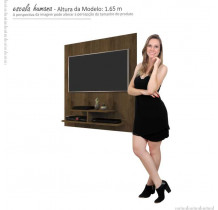 Painel Pequeno Para TV 32 Pol 5019 JB Bechara Canela