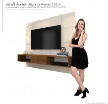 Painel Para TV 42 Polegadas 5025 JB Bechara Pérola/Caramelo