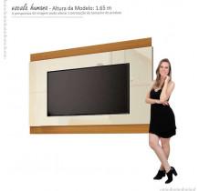 Painel Para TV até 60 Polegadas Legacy 1.6 EDN Off White/Cedro