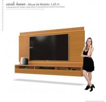 Painel Suspenso Para TV até 75 Pol Savoy 2.0 EDN Cedro