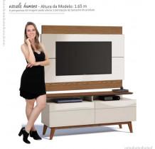 Rack com Painel Para TV Classic Mais 2G 1.4 Imcal Off White/Freijo
