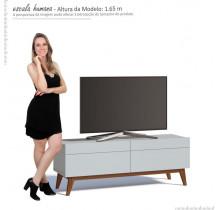 Rack Pequeno TV 55 Polegadas Classic 2G 1.4 Imcal Branco