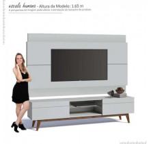 Rack com Painel Para TV Classic 2G 2.2 Imcal Branco