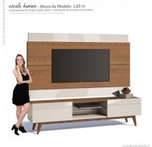 Rack com Painel Para TV Classic 2G 2.2 Imcal Freijo/Off White