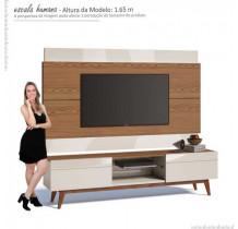 Rack com Painel Para TV Classic 2G 1.8 Imcal Freijo/Off White