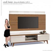 Rack com Painel Para TV Classic 2G 2.2 Com LED Imcal Freijo/Off White