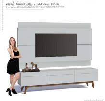 Rack com Painel Para TV Imcal Branco Classic 3G 1.8