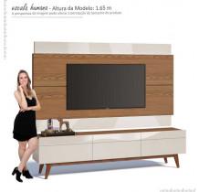 Rack com Painel Para TV Classic 3G 1.8 Imcal Freijo/Off White