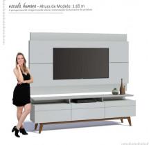 Rack com Painel Para TV Classic Mais 3G 1.8 Imcal Branco