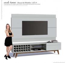 Rack com Painel Para TV Imcal Branco Classic AD 2.2