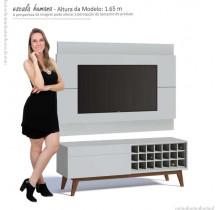 Rack com Painel Para TV Classic AD 1.4 Imcal Branco