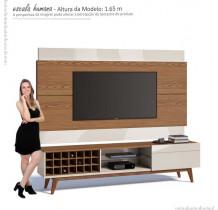 Rack com Painel Para TV Classic AD 1.8 Imcal Freijo/Off White