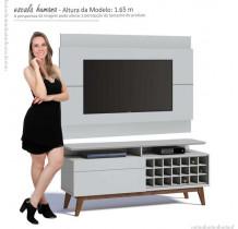 Rack com Painel Para TV Classic Mais AD 1.4 Imcal Branco