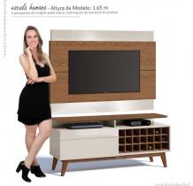 Rack com Painel Para TV Classic Mais AD 1.4 Imcal Freijo/Off White