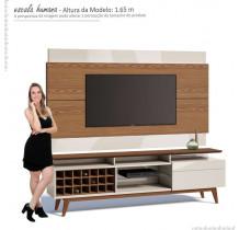 Rack com Painel Para TV Classic AD Mais 2.2 Imcal Freijo/Off White