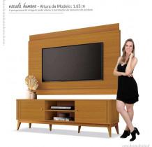 Rack Com Painel Legacy 1.6 Para TV 60 Polegadas EDN Cedro Natural