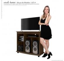 Rack Pequeno Para TV até 32 Madri RV Móveis Noce