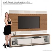 Rack Opera com Painel Para TV Classic 2.2 Imcal Freijo/Off White