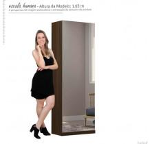 Sapateira Porta de Espelho Agata Gelius Nogueira