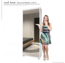 Sapateira 2 Portas de Espelho Melissa Imcal - Branco