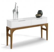 Aparador Para Sala de Jantar Branco/Canela Amalfi Lukaliam