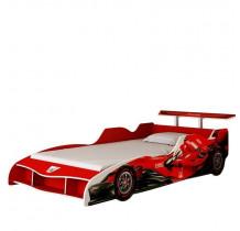 Cama Solteiro Carro F1 Gelius Vermelho