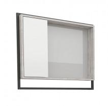 Espelho Para Banheiro Madeira Apoema 60 Cozimax Branco/Calcare