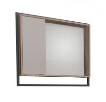 Espelho Para Banheiro Madeira Apoema 60 Cozimax Nudi/Tamarindo