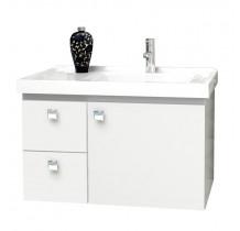 Gabinete Para Banheiro Madeira Moara 60 Cozimax Branco