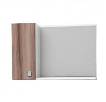 Espelho Para Banheiro Madeira Moara 60 Cozimax Branco/Tamarindo