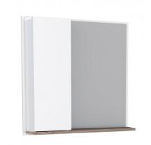 Espelho Para Banheiro Madeira Iara 60 Cozimax Branco/Tamarindo