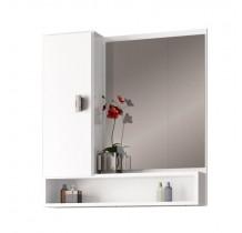 Espelho Para Banheiro Madeira Orquídea 60 Cozimax Branco