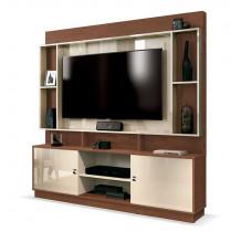 Estante Home Para TV 50 Polegadas Nevada EDN Naturale/Off White