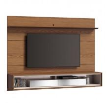 Home Suspenso Para TV 65 Polegadas Ópera 2.2 Espelho Imcal Freijó/Off White
