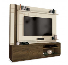 Estante Home Para TV 65 Polegadas Royal EDN Nogal/Off White